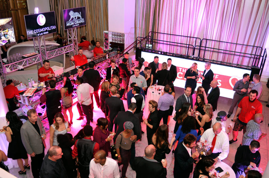 For The Love of the Cocktails - Grand Gala at Mixx Lounge on February 13, 2015.